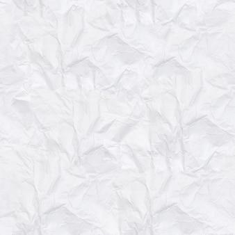 Бесшовные текстуры. белая мятой бумаги. задний план