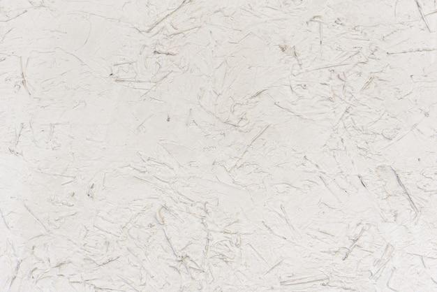 흰색 페인트로 칠한 마분지 보드의 매끄러운 질감