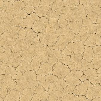 Бесшовное бесшовное текстуры потрескавшейся почвы