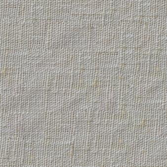 ダーティホワイトのナチュラルリネンテキスタイル表面のシームレスなタイラブルテクスチャ。
