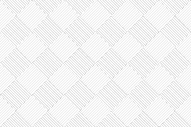 Seamless white gray square grid tiles pattern wall background.