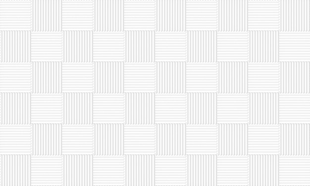 Seamless white gray square tiles pattern wall background.