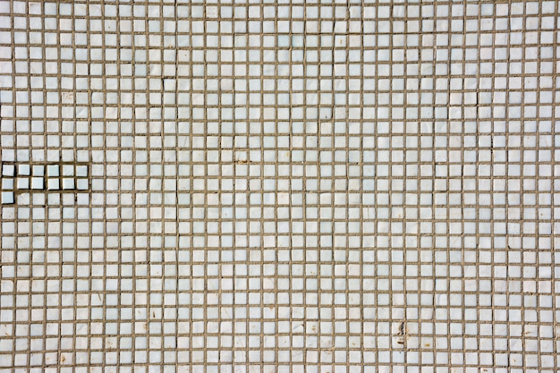 Seamless white square tiles texture. white mosaic tiles abstract background and texture.
