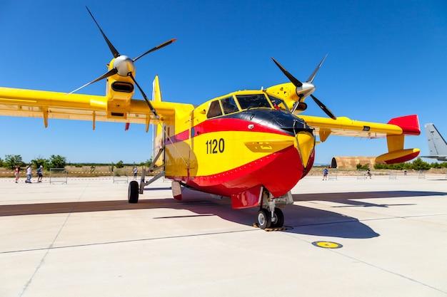 水上飛行機canadair cl-215