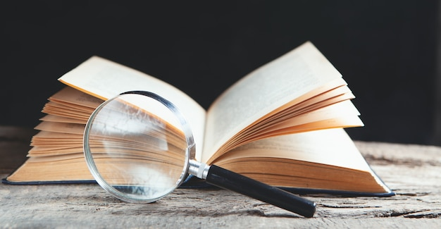 Search information in the book