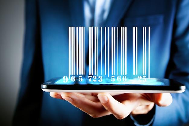Поиск информации по коду продукта. штрих-код на смартфоне