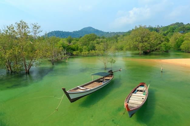 Seascape of koh phayam or phayam island, ranong province, thaland