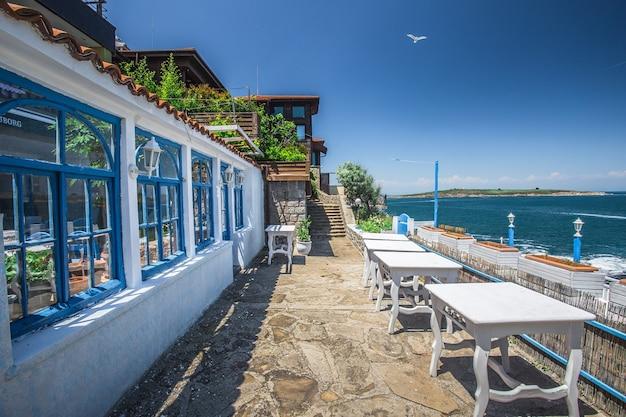 ブルガリアのソゾポルの海辺のリゾート