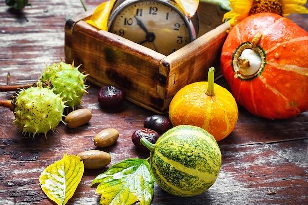 Season of autumn harvest