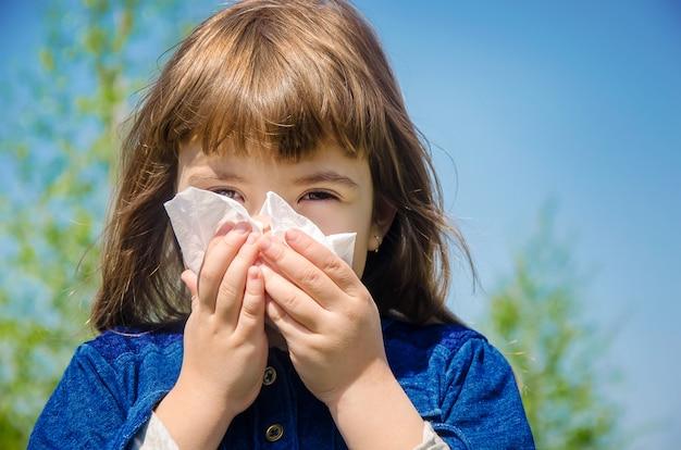 Сезонная аллергия у ребенка