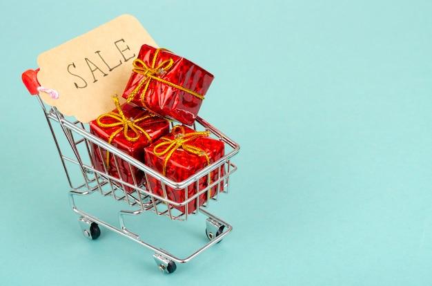 Сезонные распродажи корзина покупателя