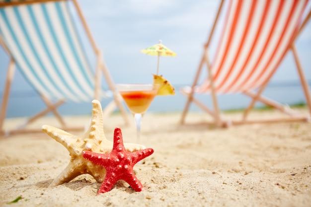 Seastar лето объект пляж коктейль