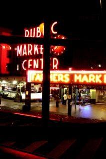 Seattle, westcoast, notte
