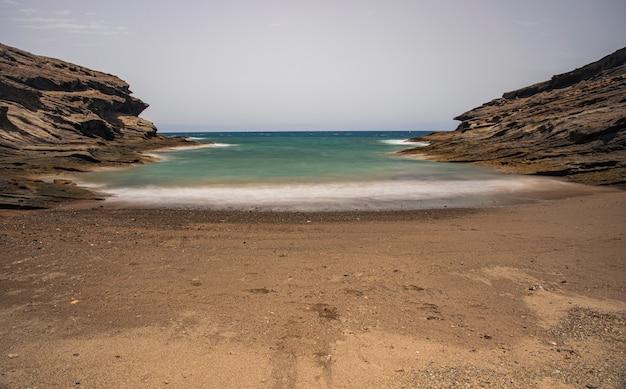 秘密のビーチ、テネリフェ島、カナリア諸島、スペイン