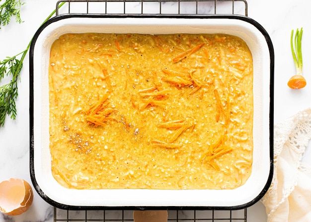 秘密の自家製キャロットケーキレシピ