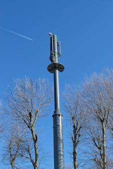 Sector antennas for base stations for mobile phones.bts - base transceiver station