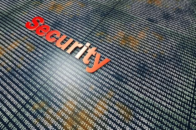 Secure digital data.