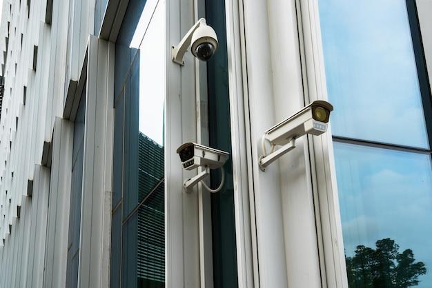 Камера видеонаблюдения и городское видео
