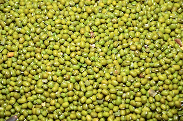 Seed of green beans in market.