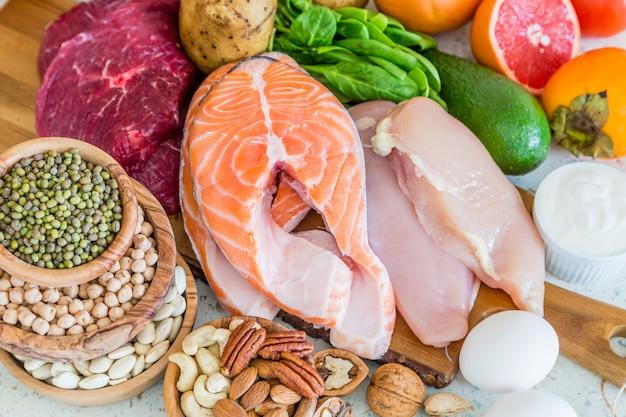 減量、キッチン用食品の選択