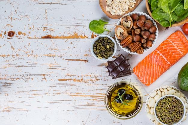 Выбор питательной пищи - сердце, холестерин, диабет