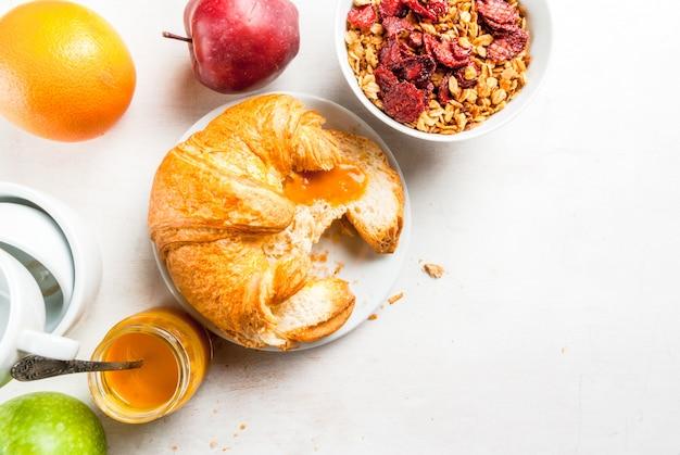 Выбор продуктов для континентального завтрака