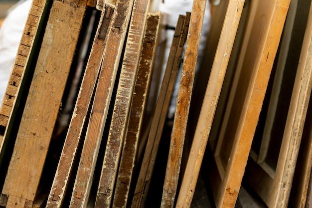 Selezione di lastre di legno Foto Gratuite