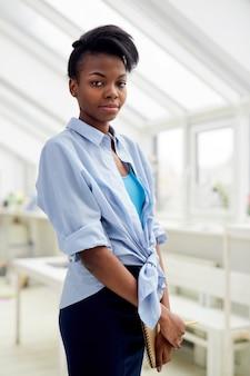 Self-employed woman designer