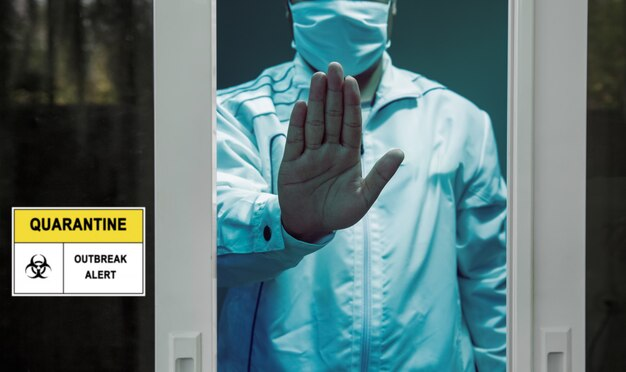 Self-isolation and self-quarantine to help stop the spread of coronavirus (covid-19) , while you wait for test results