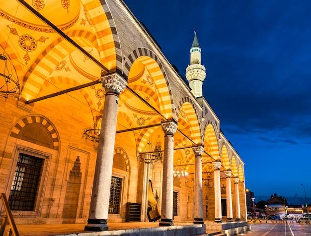 Мечеть селимие в конье, турция
