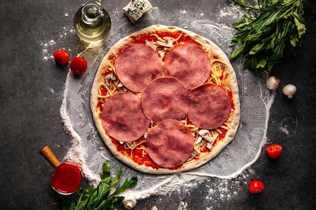 Полуфабрикат основа для приготовления пиццы неополитан