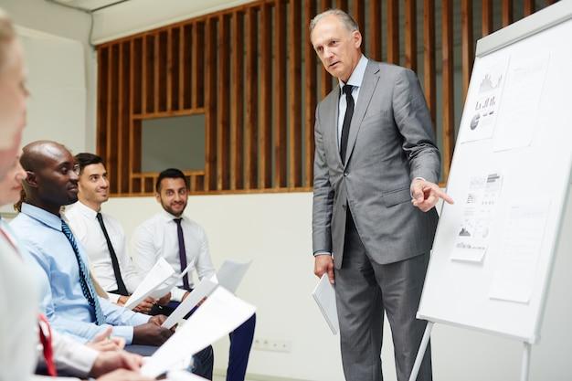 Seminar for bankers