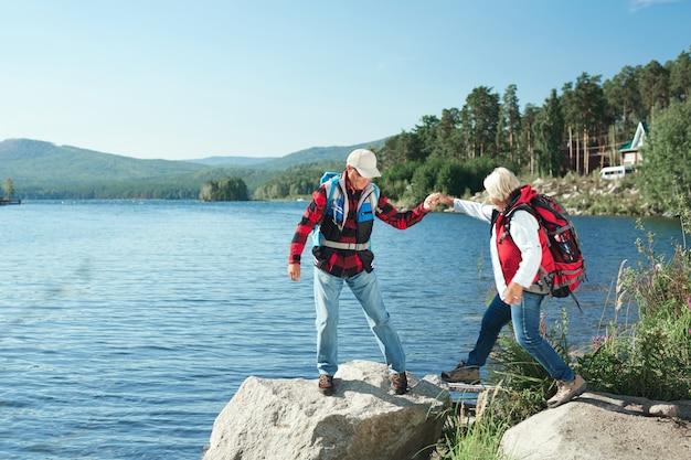 Senior adventurers