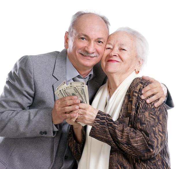 수석 남자와 돈으로 늙은 여자