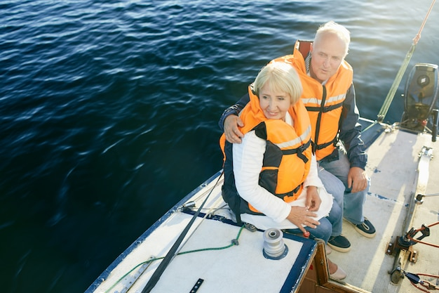 Seniors sailing