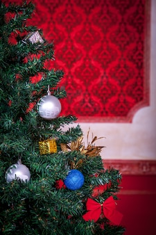 감각적인 빈티지 크리스마스 인테리어 스튜디오 촬영