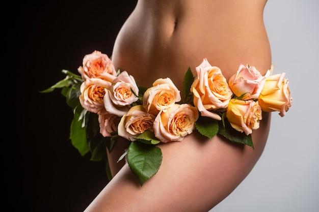 Чувственная девушка гинекология и нижнее белье женское здоровье