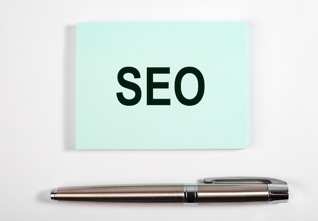 Seo word, acronym. search engine optimization.