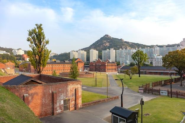 Seodaemun prison history museum in seoul south korea.