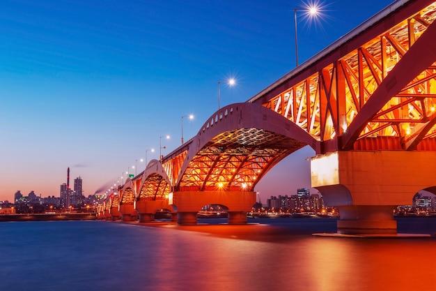 Seongsan bridge in korea