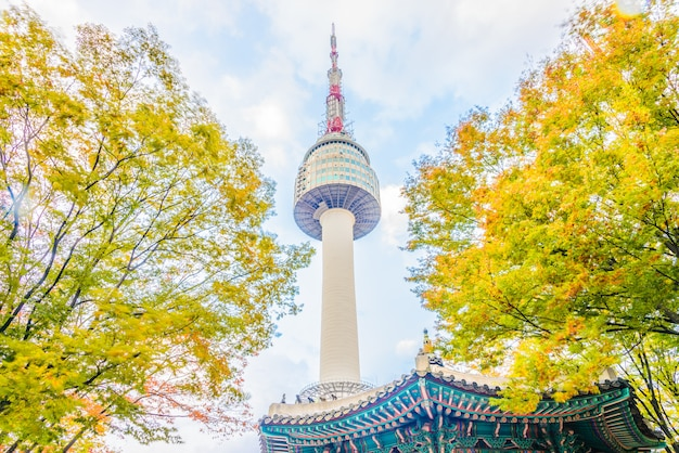 Seoul tower in seoul city