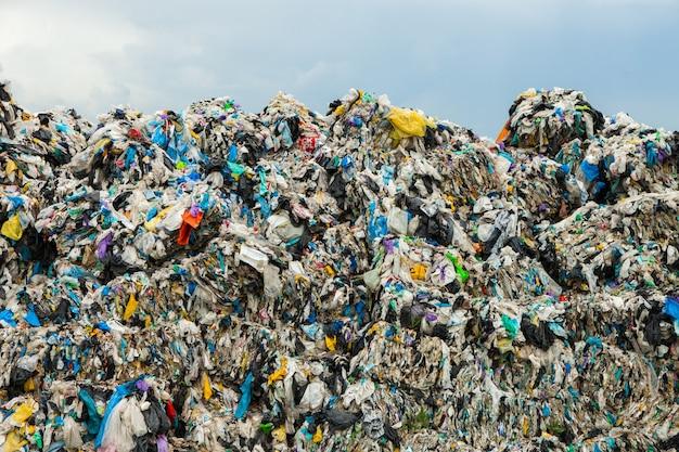 Раздельный сбор мусора концепция загрязнения мусор