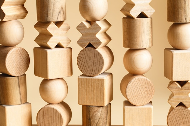 Sequencing blocks learning resource for educating shapes