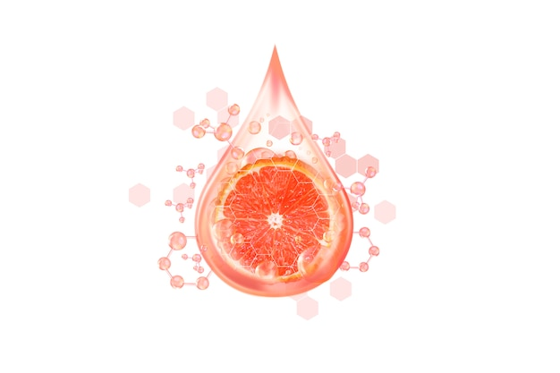 Serum of citrus