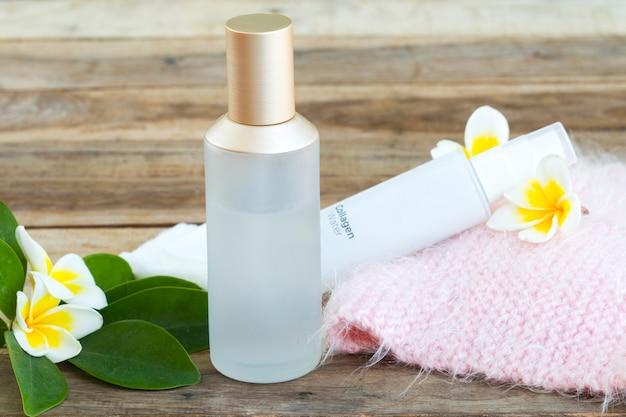 Serum toners, collagen water spray with cotton