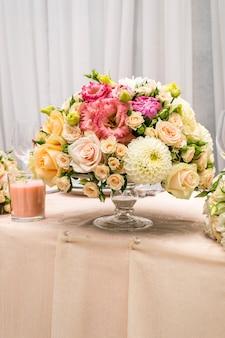 Сервировка цветков