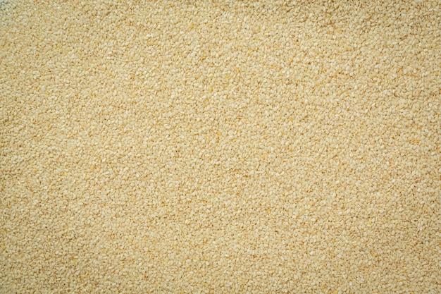 Sesame seeds on dark background