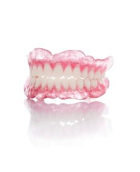 Set of artificial dentures