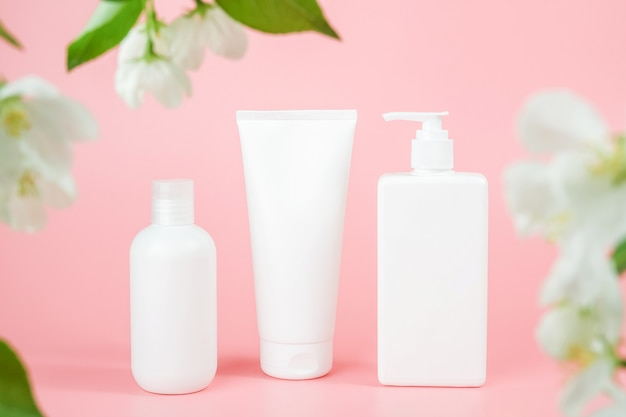 Set of care cosmetic for skin