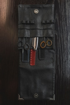 Set of hairdressing supplies